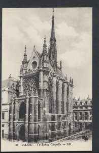 France Postcard - Paris - La Sainte Chapelle   RS6131