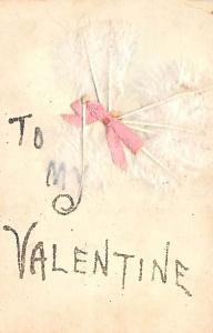 Hand Made Valentines Day writing on back
