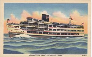 State of Pennsylvania Wilson Line New York Excursion Vessel, 1930-40s