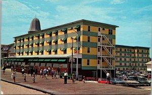 MD Ocean City Maryland vintage post card Plimhimmon Hotel