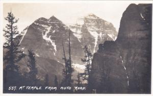RP; Byron Harmon #557, Mt. Temple from Auto Road, BANFF, Alberta, Canada, 20-30s