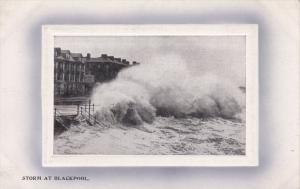 Storm at Blackpool, Lancashire, England, 1900-10s