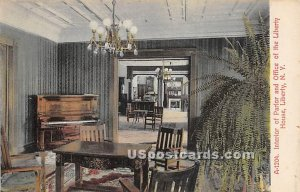 Interior of Parlor and Office of the Liberty House - New York