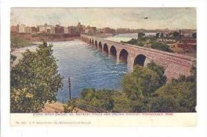 Stone Arch Bridge, St. Anthony Falls & Milling District, Minneapolis, Minneso...