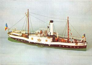 BF37484 romania navy museum the first steamer vassel   Boat Ship Bateaux