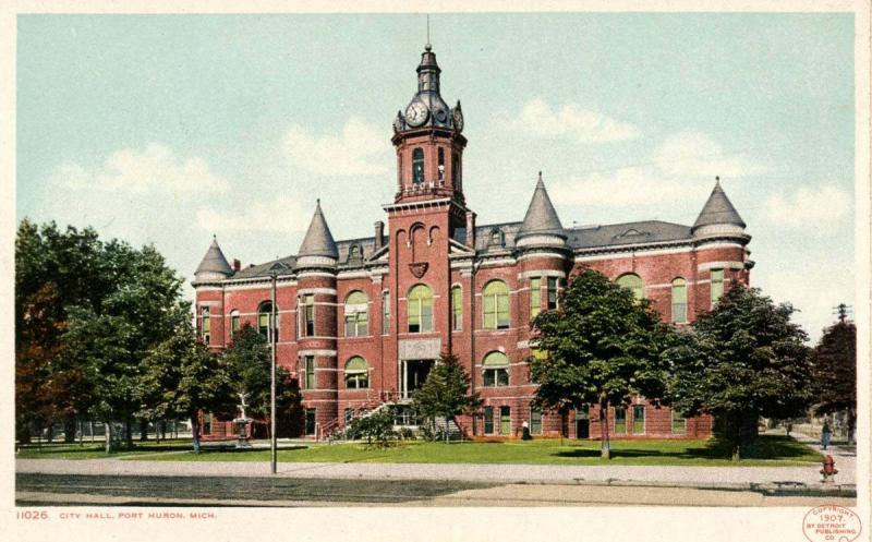 MI - Port Huron. City Hall