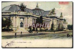 Postcard Old Paris Grand Palais