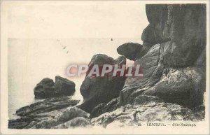 Postcard Old Besconil Cote Sauvage