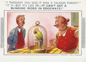 l thought you said it was a talking . Bamforth Comic Series postcard No. 1093