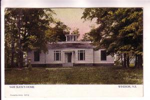 Sam Slick's Home, Windsor, Nova Scotia Warwick 1571 S,
