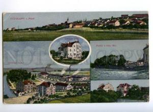 173348 CZECH KOZOLUPY u Plzne views Vintage postcard