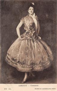 Sargent - Carmencita Musee du Luxembourg Paris Fancy vintage glamorous woman