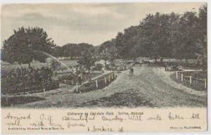 Entrance Oakdale Park Salina Kansas 1903