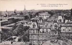 France Paris Panorama des Huits Ponts