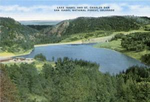 CO - San Isabel National Forest, Lake Isabel & St. Charles Dam