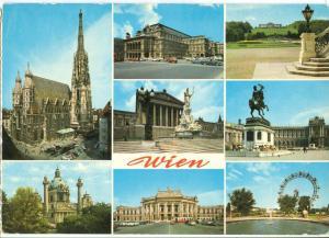 Austria, Vienna, Wien, used Postcard