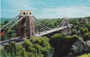 Post Card Somerset Bistol Clifton Suspension Bridge Dennis