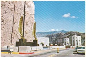 Bronze Statues at Hoover Dam Arizona