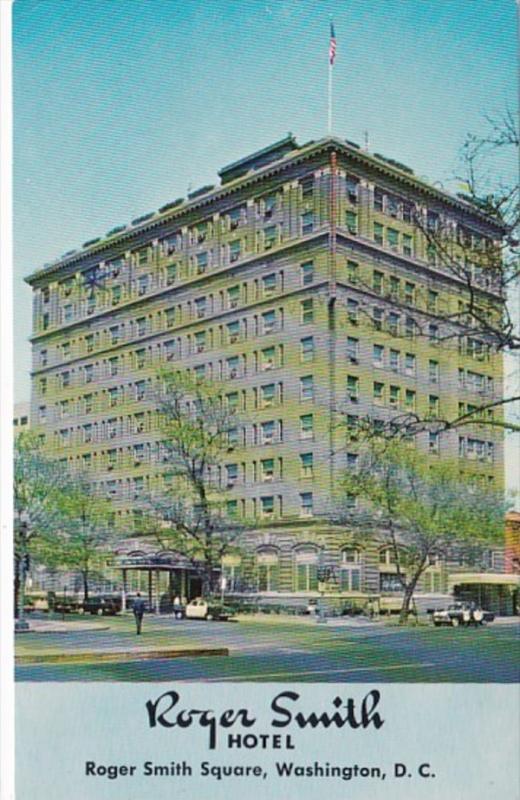 Washington D C The Roger Smith Hotel 1974