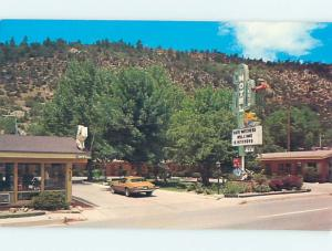 Unused Pre-1980 SIESTA MOTEL Durango Colorado CO n7032-22