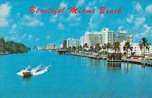 Florida Miami Beach Scenic Waterways Ever Blue Skies And Fabulous Hotels Miam...