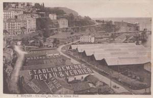 Wine Port Docks Harbour Bougie Algeria Antique Algerian Mediterranean Postcard