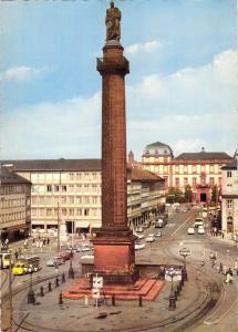 GG11336 Darmstadt Odenwald und Bergstrasse Luisenplatz Statue, Auto Cars
