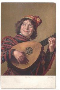 Der Narr - The Fool or The Jester - Vintage Art Postcard - Signed Frans Hals