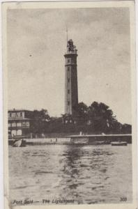 The Lighthouse, Port Said, Egypt, Africa, 1900-1910s