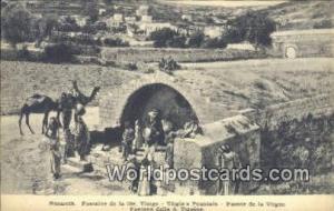 Nazareth, Israel Fountaine de la Ste Vierge, Virgin's Fountain Fountaine de l...