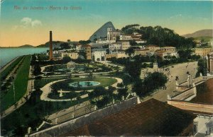 Brazil Rio de Janeiro Morro da Gloria postcard 1912