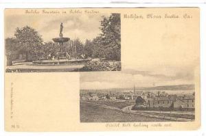Public Fountain in Public Garden, Citadal Hill, Halifax, N.S.,Canada,00-10s