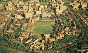 Australia - Victoria. Melbourne University, Aerial View