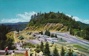 Tennessee Newfound Gap Parking Area Smoky Mountains