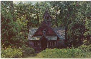BOYNTON CHAPEL NEAR BAILEYS HARBOR DOOR COUNTY, WISCONSIN, unused Postcard