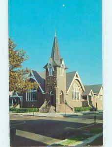 Unused Pre-1980 CHURCH SCENE Cape May New Jersey NJ L3001-12