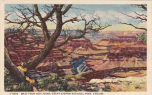 Fred Harvey West From Hopi Point Grand Canyon National Park Arizona 1952 Detr...