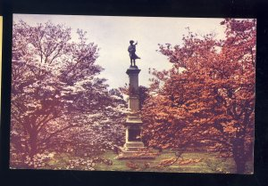 Valley Forge, Pennsylvania/PA Postcard, Dogwood Grove & New Jersey Monument