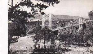 Colorado Vista Of The Royal Gorge Bridge From The South Rim Sanborn Real Phot...