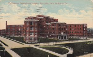 The Western Pennsylvania Hospital, Friendship Park, Pittsburgh, Pennsylvania,...