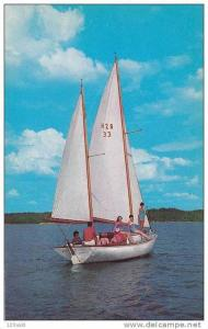 Sailing on Kentucky Lake, Lower Tennessee,40-60s