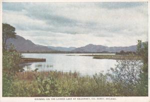 Evening on the Lower Lake at Killarney, KERRY, Ireland, 50-70's