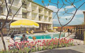 Swimming Pool,  Sheraton-Villa Inn,  Burnaby,  B.C.,  Canada,  40-60s
