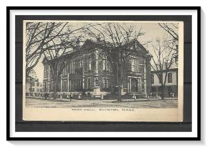 Massachusetts, Clinton - Town Hall - Undivided - [MA-473]