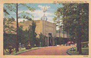 Virginia Newport News Mariners Museum 1949