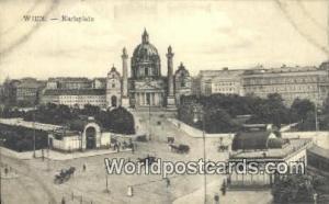 Wien, Vienna Austria, Österreich Karlsplatz  Karlsplatz