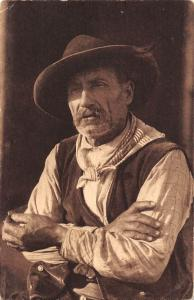 Type de berger, A. Tomasi, Art, Ajaccio, Western motif, Old Man Cowboys