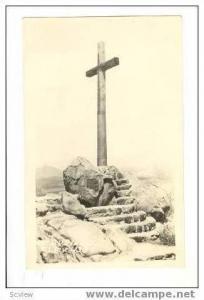 RP, Wooden Cross On Mount Rubidoux, Riverside, California, 1910-1930s