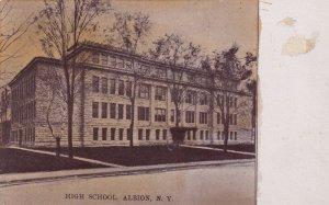 ALBION, New York, 1900-1910's; High School