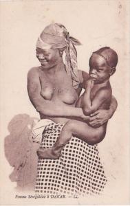 Africa Nude Topless Senegal Dakar Femme Senegalaise